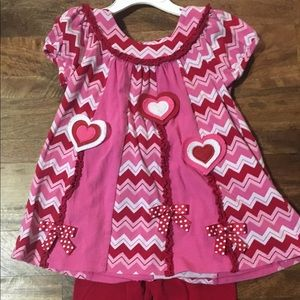 Vday girls outfit